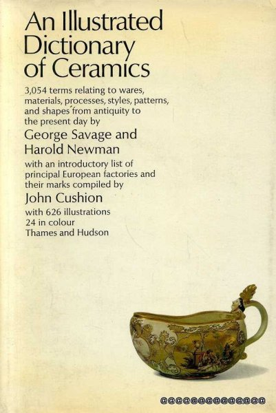 Image for AN ILLUSTRATED DICTIONARY OF CERAMICS