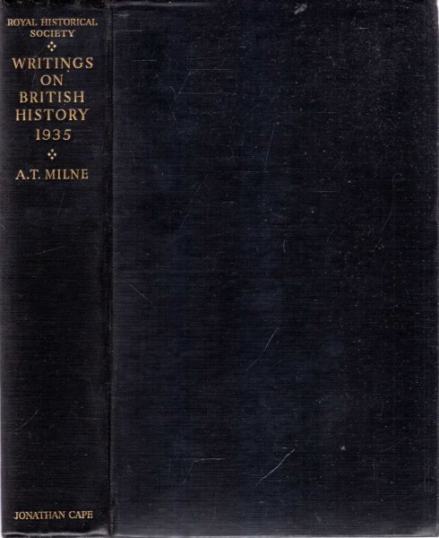 Image for WRITINGS ON BRITISH HISTORY 1935 A Bibliography of books & articles on the history of Great Britain from about 450 to 1914 published during the year 1935