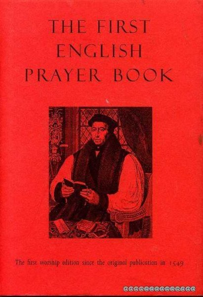 Image for THE FIRST ENGLISH PRAYER BOOK