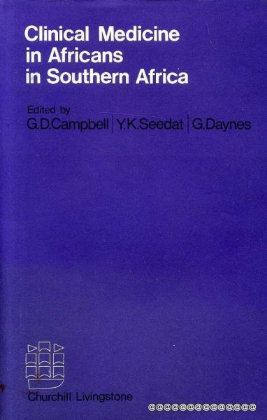 Image for CLINICAL MEDICINE IN AFRICANS IN SOUTHERN AFRICA