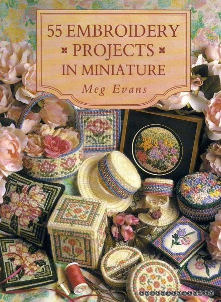 Image for 55 EMBROIDERY PROJECTS IN MINIATURE
