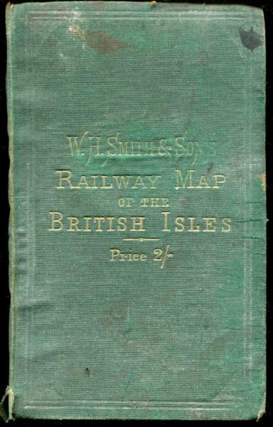 Image for RAILWAY MAP OF THE BRITISH ISLES