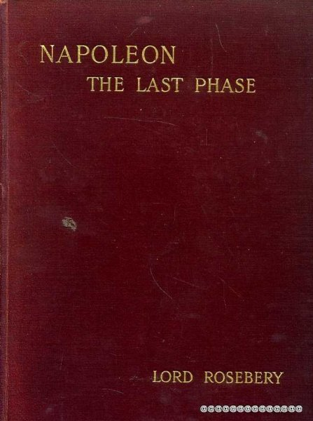 Image for NAPOLEON The Last Phase