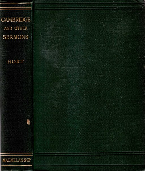 Image for CAMBRIDGE & OTHER SERMONS