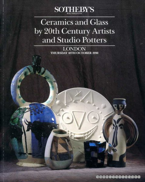 Image for CERAMICS AND GLASS BY 2OTH CENTURY ARTISTS AND STUDIO POTTERS