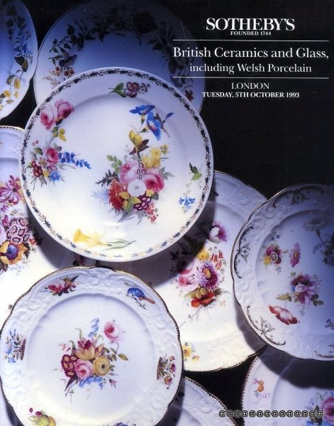 Image for BRITISH CERAMICS AND GLASS including Welsh Porcelain