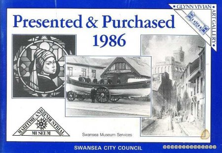 Image for PRESENTED AND PURCHASED 1986 (English & Welsh text)