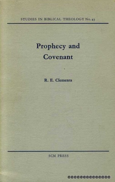 Image for PROPHECY AND COVENANT