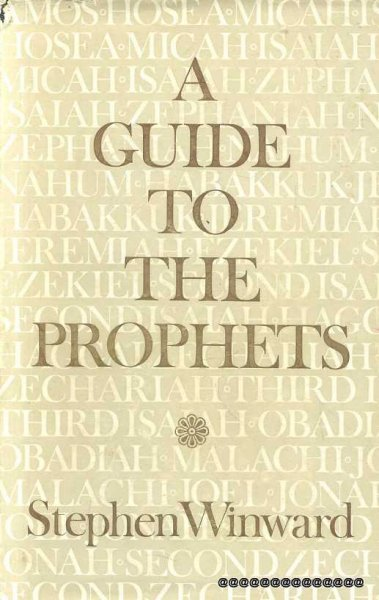 Image for A GUIDE TO THE PROPHETS