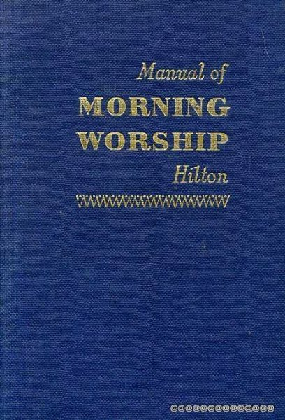 Image for MANUAL OF MORNING WORSHIP