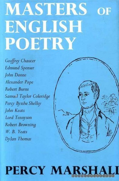 Image for Masters of English Poetry