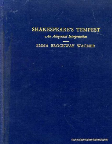 Image for Shakespeare's The Tempest: An Allegorical Interpretation