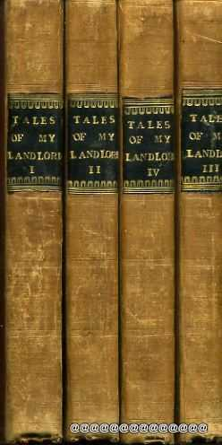Image for Tales of My Landlord, First series in four volumes