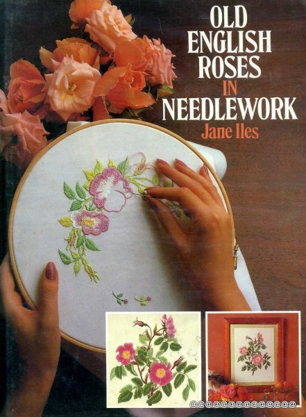 Image for Old English Roses in Needlework