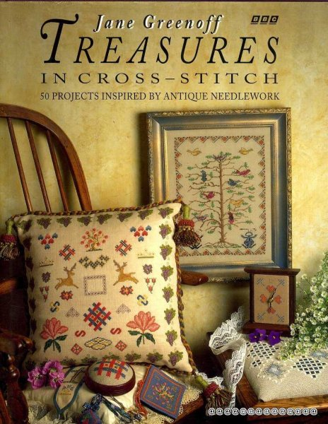 Image for Treasures in Cross-Stitch