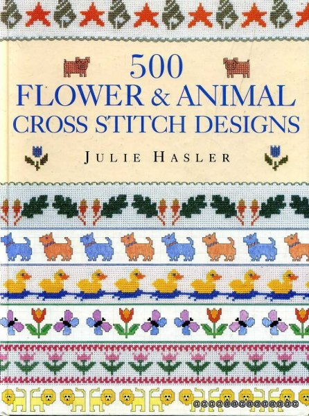 Image for 500 Flower & Animal Cross Stitch Designs