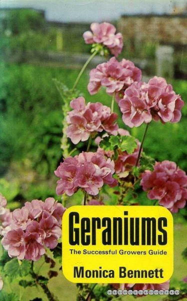 Image for Geraniums:the Successful Grower's Guide: The Successful Grower's Guide