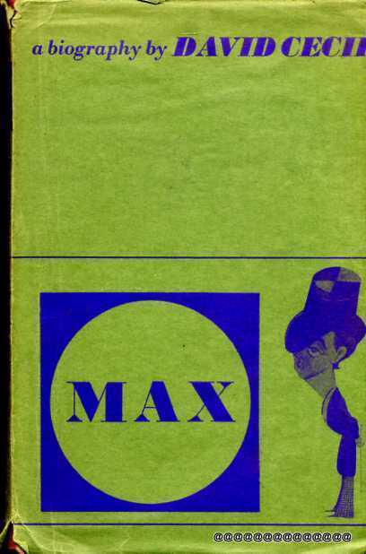 Image for Max - a biography