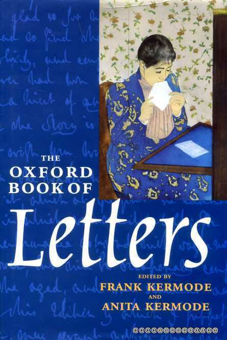 Image for The Oxford Book of Letters