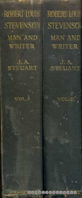 Image for Robert Louis Stevenson Man and Writer a critical biography (two volumes)