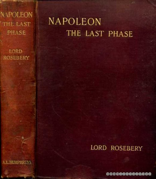 Image for Napoleon - the last phase