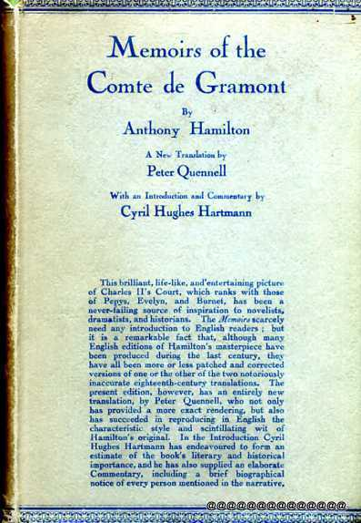 Image for Memoirs of the Comte de Gramont