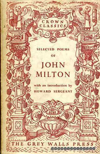 Image for A Selection of Poems by John Milton