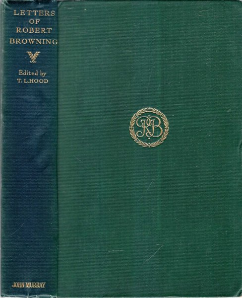 Image for Letters of Robert Browning collected by Thomas J Wise