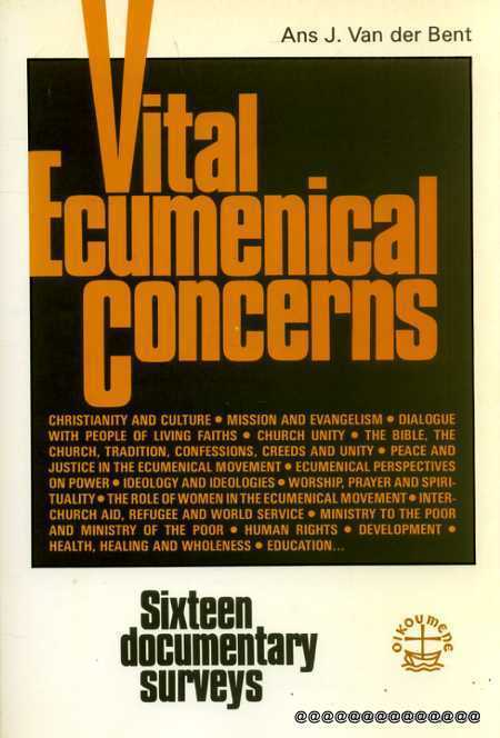 Image for Vital Ecumenical Concerns: Sixteen Documentary Surveys