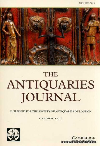 Image for The Antiquaries Journal volume 90 : 2010 Being the Journal of the Society of Antiquaries of London