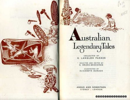 Image for Australian Legendary Tales