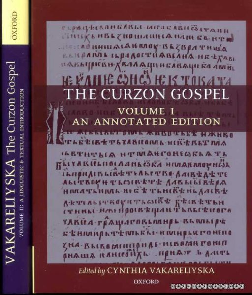 Image for The Curzon Gospel: An Annotated Edition and A Linguistic & Textual Introduction (two volume set)