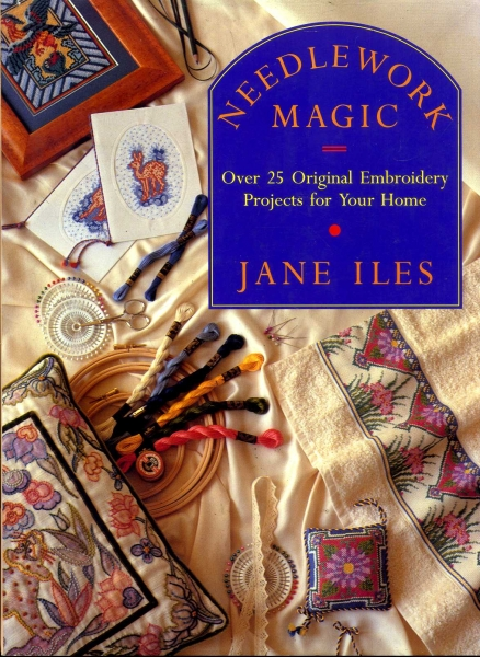 Image for Needlework Magic over 25 original embroidery projects for your home