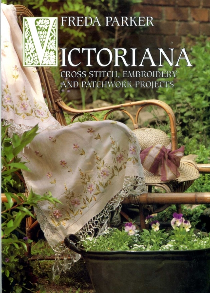 Image for Victoriana cross stitch, embroidery and patchwork projects