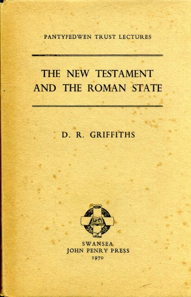 Image for THE NEW TESTAMENT AND THE ROMAN STATE