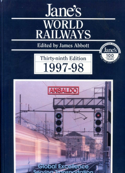 Image for Jane's World Railways 1997-98