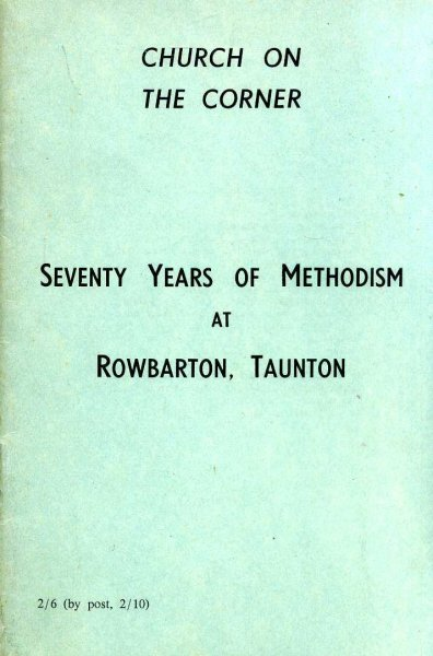 Image for Church on the Corner : Seventy Years of Methodism at Rowbarton, Taunton