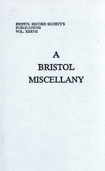 Image for A Bristol Miscellany