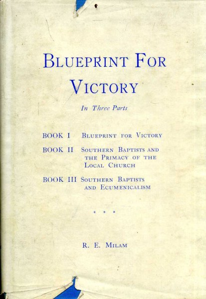 Image for Blueprint for Victory  in three parts