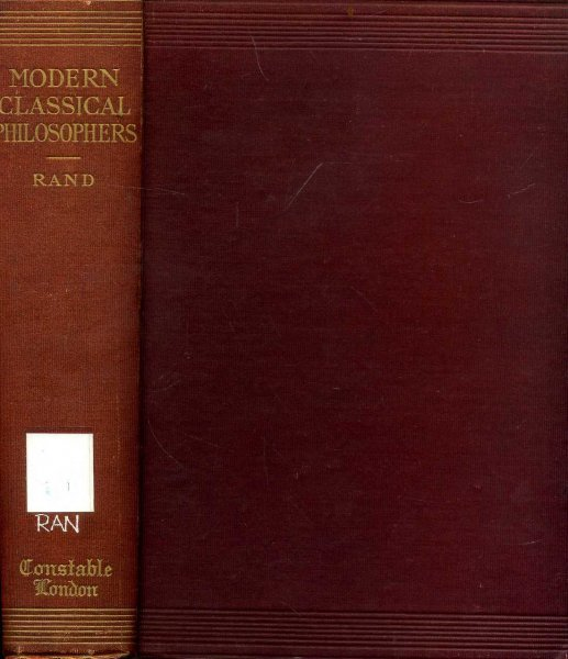 Image for Modern Classical Philosophers - selections illustrating modern philosophy from Bruno to Spencer