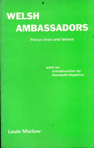 Image for Welsh Ambassadors (Powys Lives and Letters)