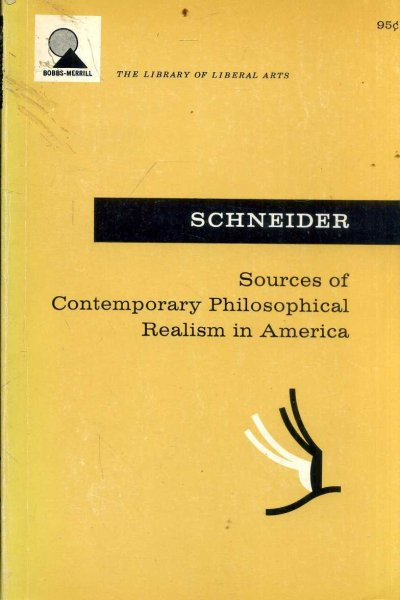 Image for Sources of Contemporary Philosophical Realism in America