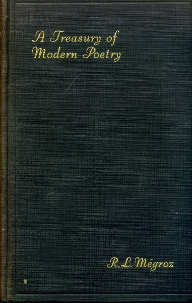Image for A Treasury of Modern Poetry - an anthology of the last forty years