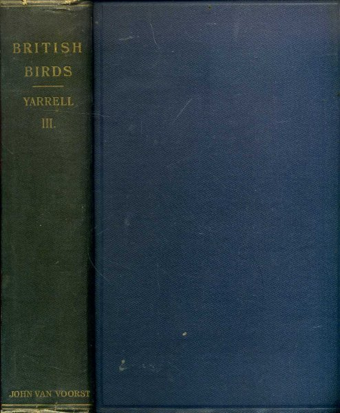 Image for A History of British Birds, volume III, revised and enlarged