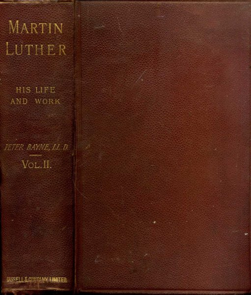 Image for Martin Luther - His Life and Work, volume II
