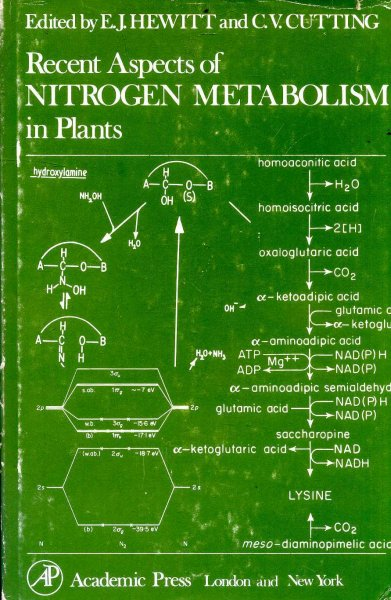 Image for Recent Aspects of Nitrogen Metabolism in Plants