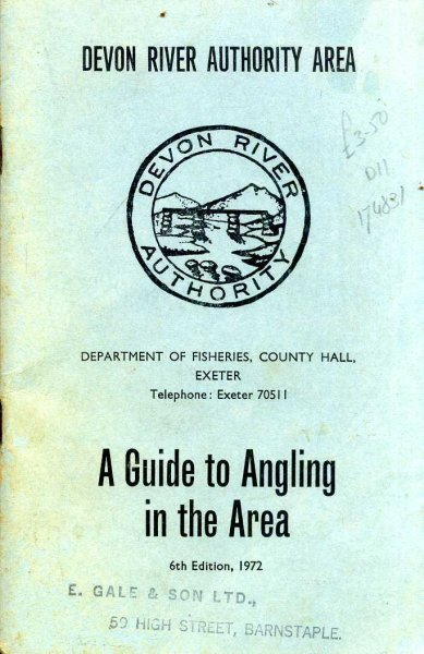 Image for A Guide to Angling in the Devon River Authority Area