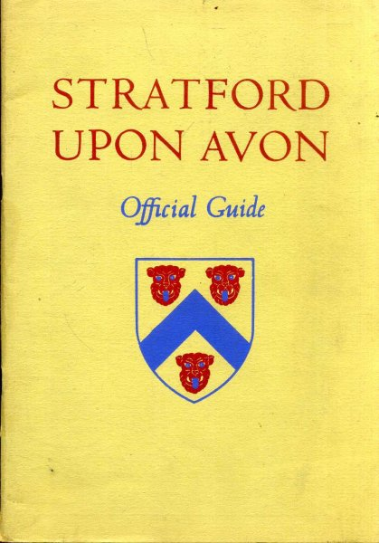 Image for Stratford Upon Avon - Official Guide