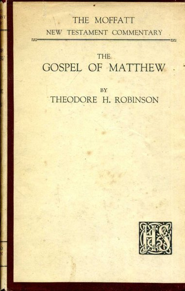 Image for The Gospel of Matthew (Moffat NT Commentaries)