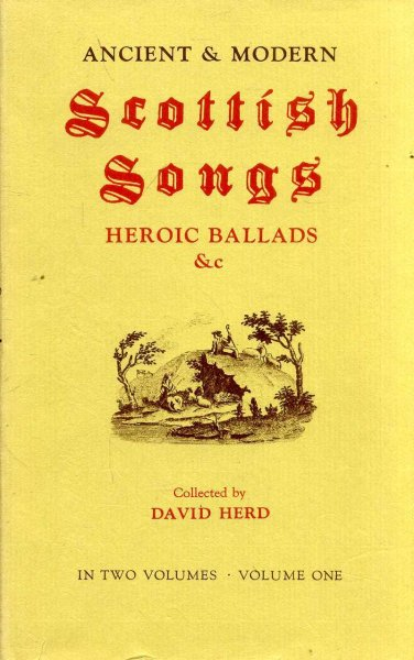 Image for Ancient and Modern Scottish Songs, Heroic Ballads Etc. (two volumes)